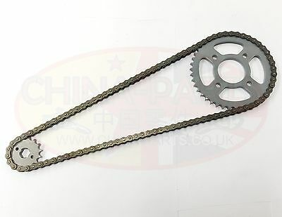 Chain /& Sprockets Set to fit Haotian Vixen HT125-8