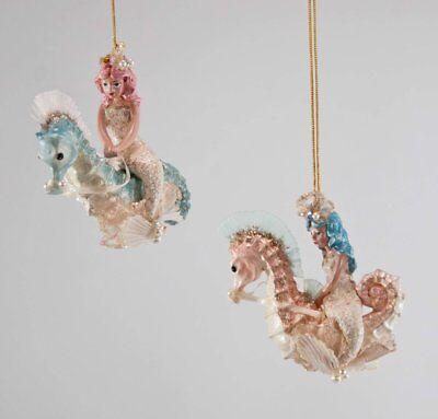 Katherine´s Collection kleine Meerjungfrau Nixe Perle Muschel Glitter 15cm NEU