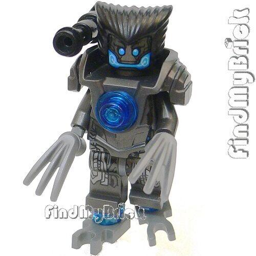 BM082 Lego CUSTOM Wolverine Robot Droid Custom X-men Minifigure NEW