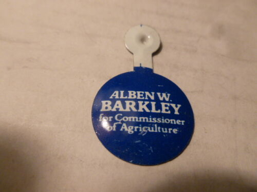 Kentucky Alben W. Barkley Campaign Political Tab Pin Back 1978 Button Election