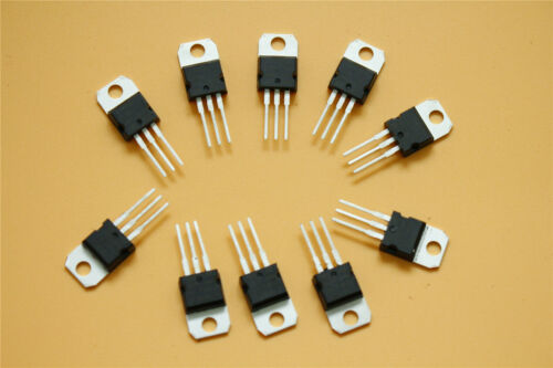10Pcs Voltage Regulator 8.0V 1.5A L7808CV L7808 7808 TO-220