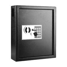 40 Steel Safe Hook Key Box Withtag Digital Lock Storage Case Cabinet Wall Mount Us