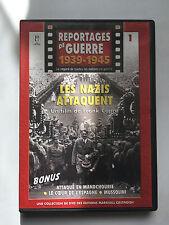 REPORTAGES DE GUERRE 1939 -1945 ...  N°1 ... LES NAZIS ATTAQUENT ... FRANK CAPRA