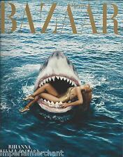 Harpers Bazaar magazine Rihanna Spring fashion Zodiac style Dustin Yellen