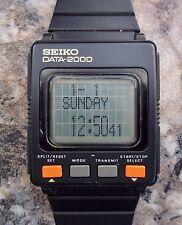 Vintage Seiko DATA-2000 UW01-0020 Rare Electronic Watchwatch Original Memo Watch