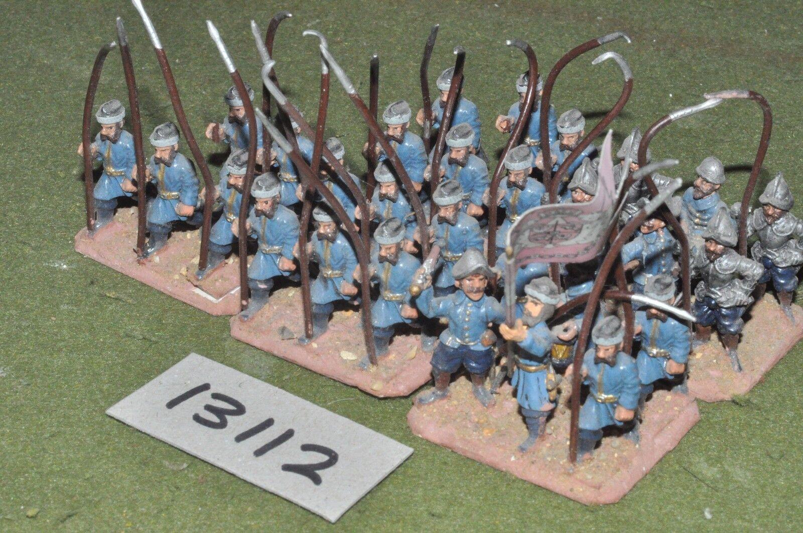 25mm renaissance   polish - infantry 28 figures - inf (13112)