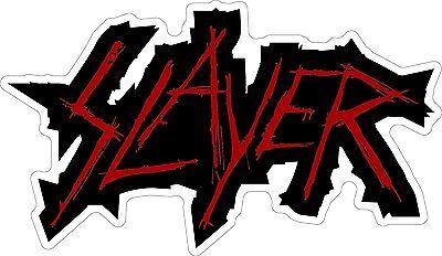 "SLAYER Thrash Metal Vinyl Car Sticker Decal  2.5/"""