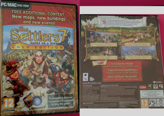 Settlers 7 Paths to a Kingdom - Gold Edition on