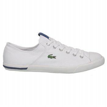 Lacoste Newton Spm White Shoes Men 100% Authentic Size 11.5 - 45New