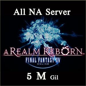 Details about FINAL FANTASY XIV 5000000 GIL FF14 5 Million Gold FFXIV All  NA Server PC PS4
