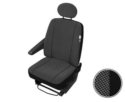 Sitzbezüge Schonbezüge SET QA VW T4 Transporter Kunstleder schwarz