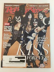 ROLLING STONE Magazine Kiss April10th 2014  issue #1206