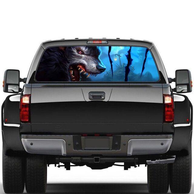 3D Spider Black Widow Realistic Tailgate Hood Window Decal Vehicle Truck