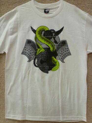 "Color White Metal Mulisha Men T-Shirt /"" Samurai /"""