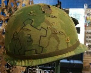 M1-Steel-Pot-Helmet-Vietnam-Era-3rd-Bn-503rd-Infantry-173rd-Airborne