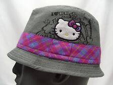 HELLO KITTY - YOUTH SIZE S/M - FEDORA STYLE CAP HAT!