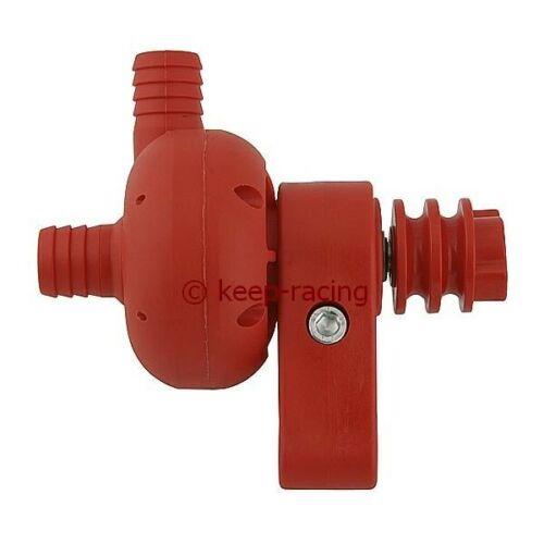 Nylon Wasserpumpe für Kart rot Wasserkühler Kühler Kartmotor