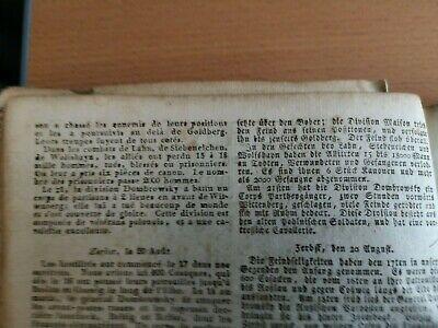 1813 140 / Straßburg Mainz / Buxtehude Nachruf Alberti Schleebusch