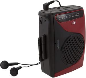 Cassette Player Recorder W/Am Fm Radio Compact Size Stereo Speaker Walkman