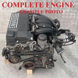 BMW-1-3-E87-E90-116i-316i-115PS-nackter-Motor-neue-Steuerkette-N45B16A-GARANTIE