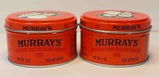 MURRAY'S (MURRAYS) SUPERIOR HAIR DRESSING POMADE *2 LOT*  3OZ