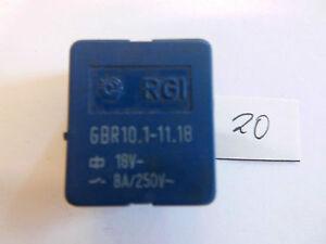 Relais-GBR10-1-11-18-18-V-8-A-250-V-1x-um-liegend-Relay