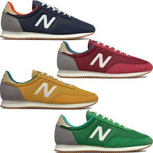 New Balance 720 Baskets pour Hommes Chaussures de Tennis Basses en Toile Retro