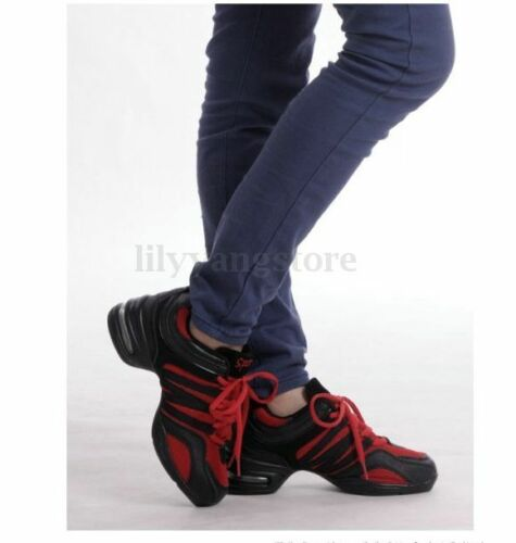 Modern Jazz Hip Hop Dance Running Shoes Women Fashion Athletic Sneakers Comfy