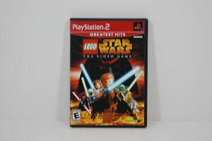 Sony Playstation 2 PS2 Lucas Lego Star Wars The Video Game FREE SHIPPING!