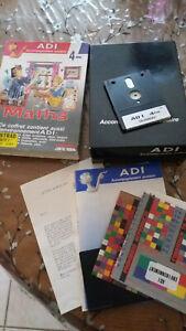 jeu educatif amstrad 464 / 664 / 6128 disquette testé  ADI maths