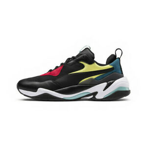 Details about EUC PUMA Thunder Spectra Black White US Men's 10 36751601  Yellow Red Blue