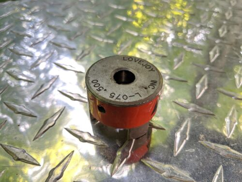 "NOS Lovejoy L-075 Individual Coupler 0.500 1//2/"" Bore"