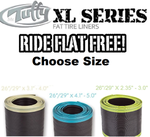 Mr Tuffy XL SERIES Fat Bike 26  29  2.35-5.0  Tire Liners 2XL 3XL 4XL Stop Flats