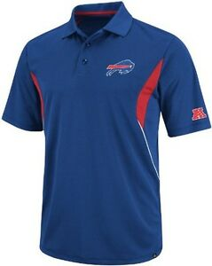 Buffalo bills nflteam apparel field classic dri fit polo for Buffalo bills polo shirts