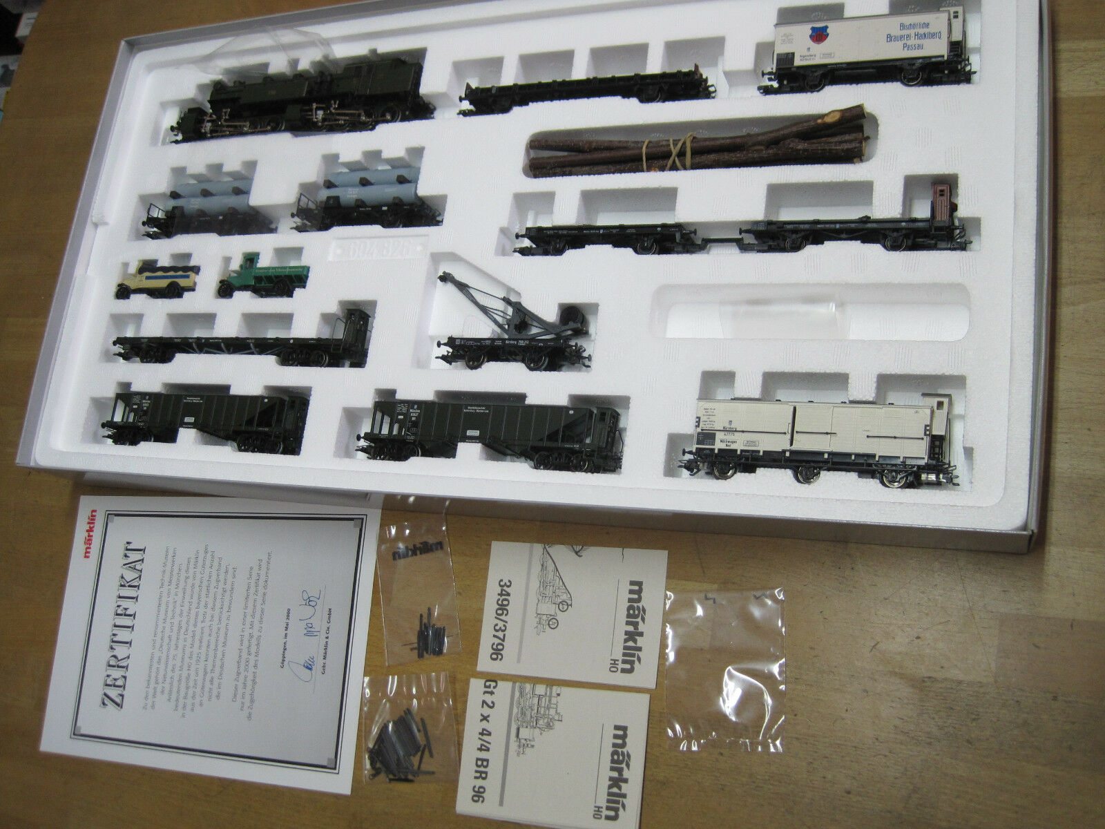 h0 26960 bavarese treno merci Digital NUOVO OVP