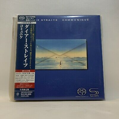 Dire Straits - Communique - SHM-SACD Japan Super Audio CD SACD  4988005697660   eBay