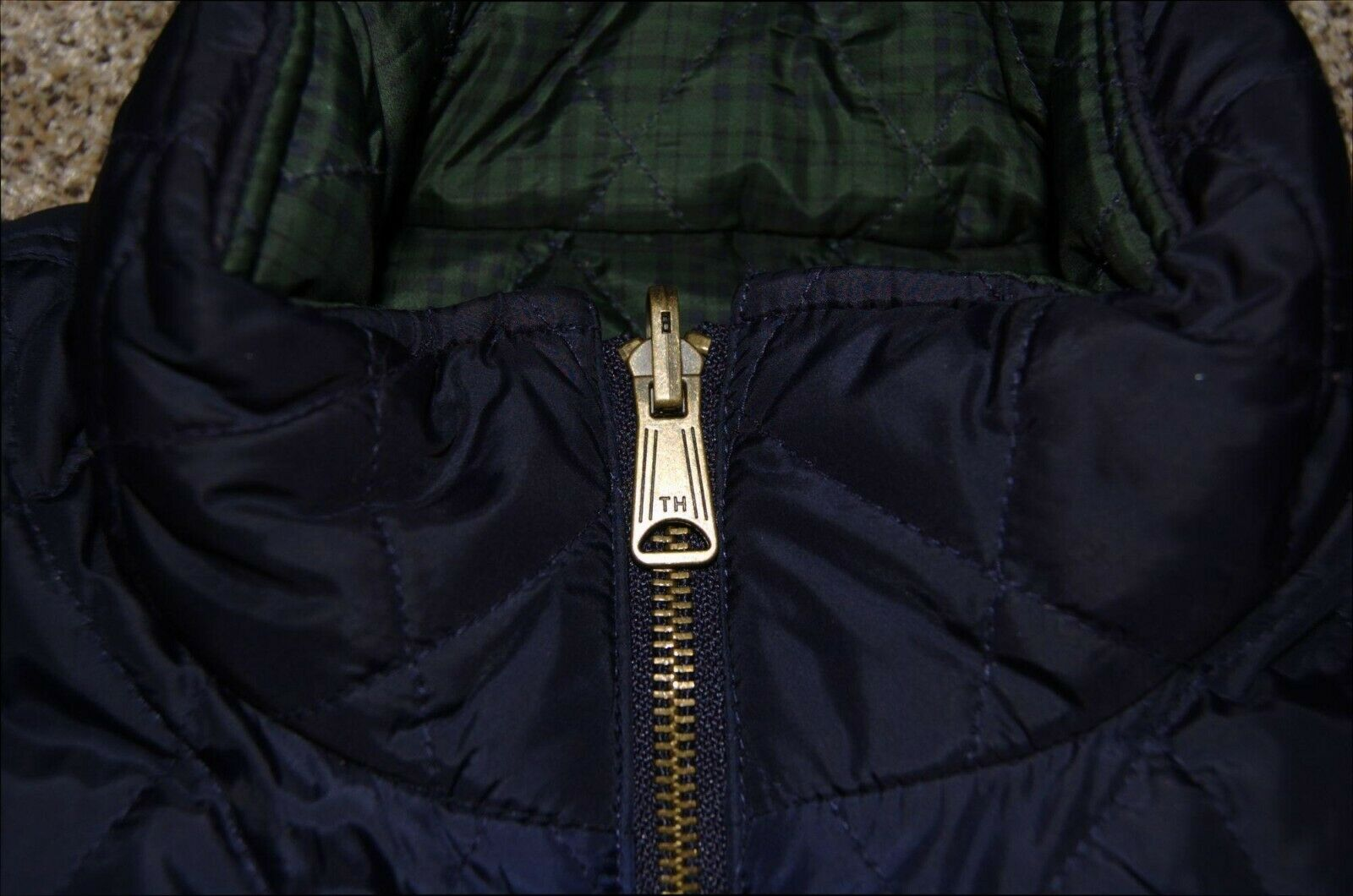 Vintage Tommy Hilfiger Quilted Reversible Women's… - image 7