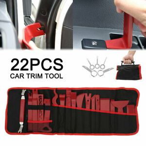 22X-Car-Trim-Removal-Tool-Kit-Door-Panel-Molding-Pouch-Pry-Interior-Tools-Set-UK