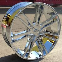 26 Inch B20 Rims + Tires All Dodge Ram 1500's 5x139.7 Navigator F-150 5x135
