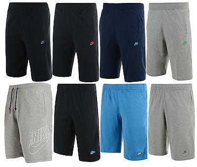 New Mens Nike logo Cotton Shorts - Sports Gym Training Knee Length Pants    eBay