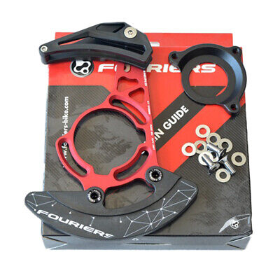 Red//black MTB Downhill Chain Guide Chain Bash Guard ISCG ISCG05 For 32-38t Part