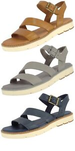 fa0b5b2b TIMBERLAND SAMPLE WOMEN'S BAILEY PARK Y STRAP LEATHER SANDALS US 7 ...