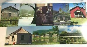 Old-Bedford-Village-Postcards-Bedford-Pa-Bob-Webb-Photography-Lot-of-8