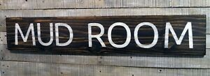 MUD-ROOM-Large-Rustic-Wood-Sign-42-034-long-Farmhouse-Stained-Distressed-Letters