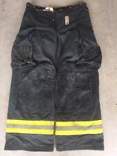 Firefighter Janesville Lion Apparel Turnout Bunker Pants 34x30 Black 2008