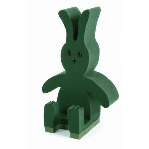 RABBIT SITTING 3D FLORAL FOAM FUNERAL TRIBUTE MEMORIAL OASIS TYPE SKU 2461