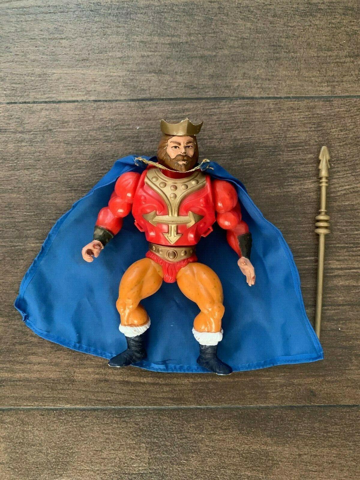 Completar el Rey Randor masters del universo Amos del universo he-Man Raro