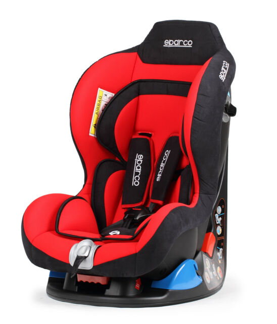 Sparco Child Seat F5000 K RED 0 18 Kg ECE Homologation Safety Baby Tuning Auto