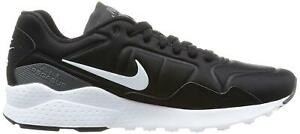 a055be8716f8 Mens Nike Air Zoom Pegasus 92 Black Running Trainers 844652 001 ...