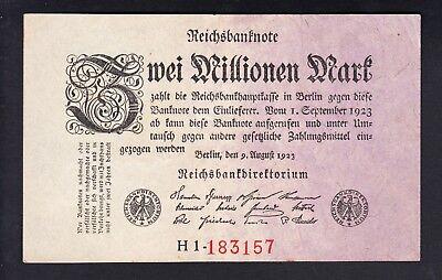 VF Germany P 104-2 Millionen Mark 1923